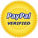 PayPal verified secure payments.